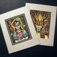 8 x 10&quot; Print Matted Pair