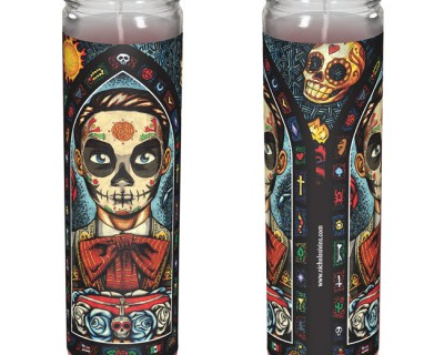 """Muerto"" Candle"