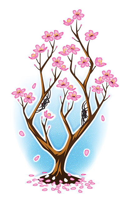 How To Draw A Cherry Blossom Tree In Pencil �cherry blossom� tattoo