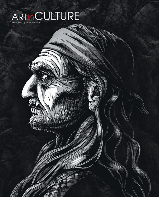 Willie Nelson, Culture Magazine March 2012