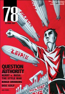 "78 Magazine ""Question Authority"" Cover"