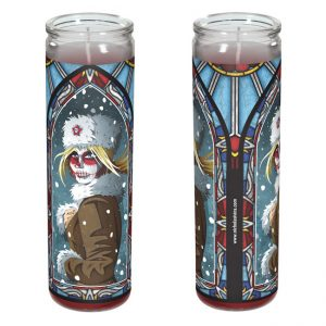 Day of the Dead candle