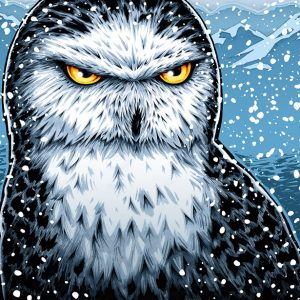 Snowy Owl art print