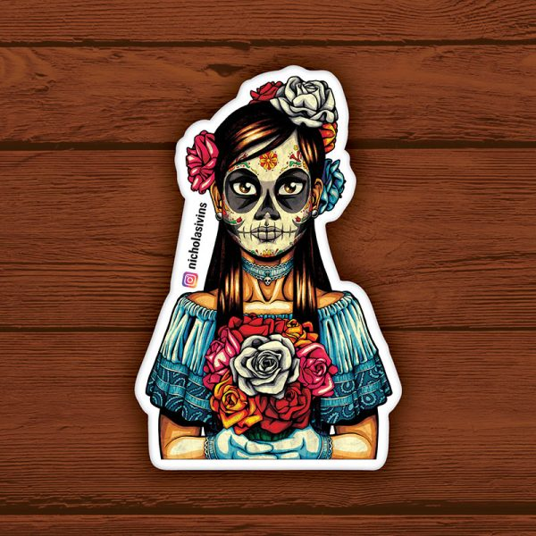 Muerta Sticker